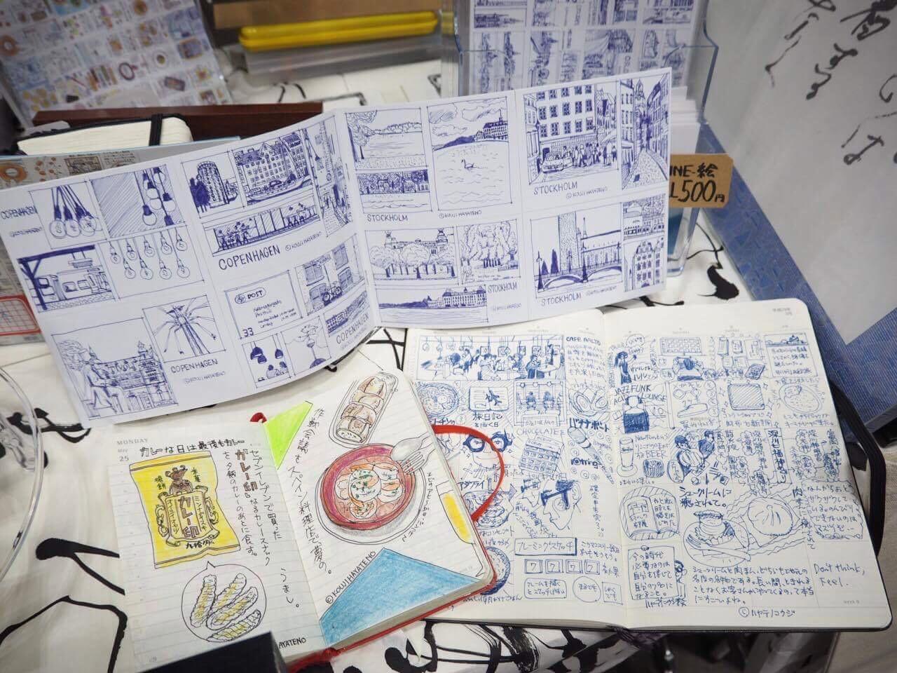 デザインフェスタ:ハヤテノコウジブース