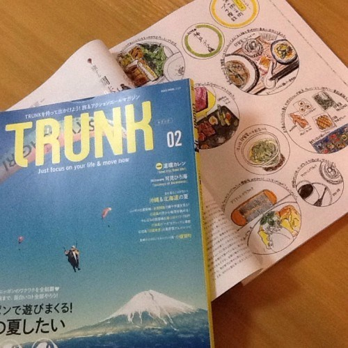 "Lifestyle magazine ""TRUNK""02"